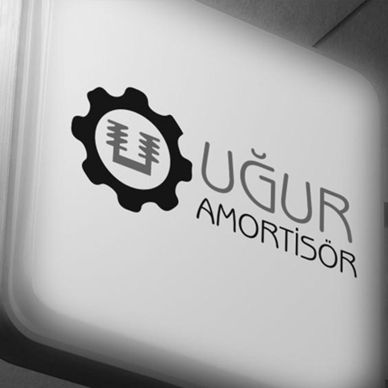 ugur amortisör logo tasarımı